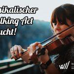 Heimatshoppen 11. und 12. September - Musikalischer Walking Act gesucht