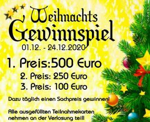 Weihnachtsgewinnspiel Weilburg 2020