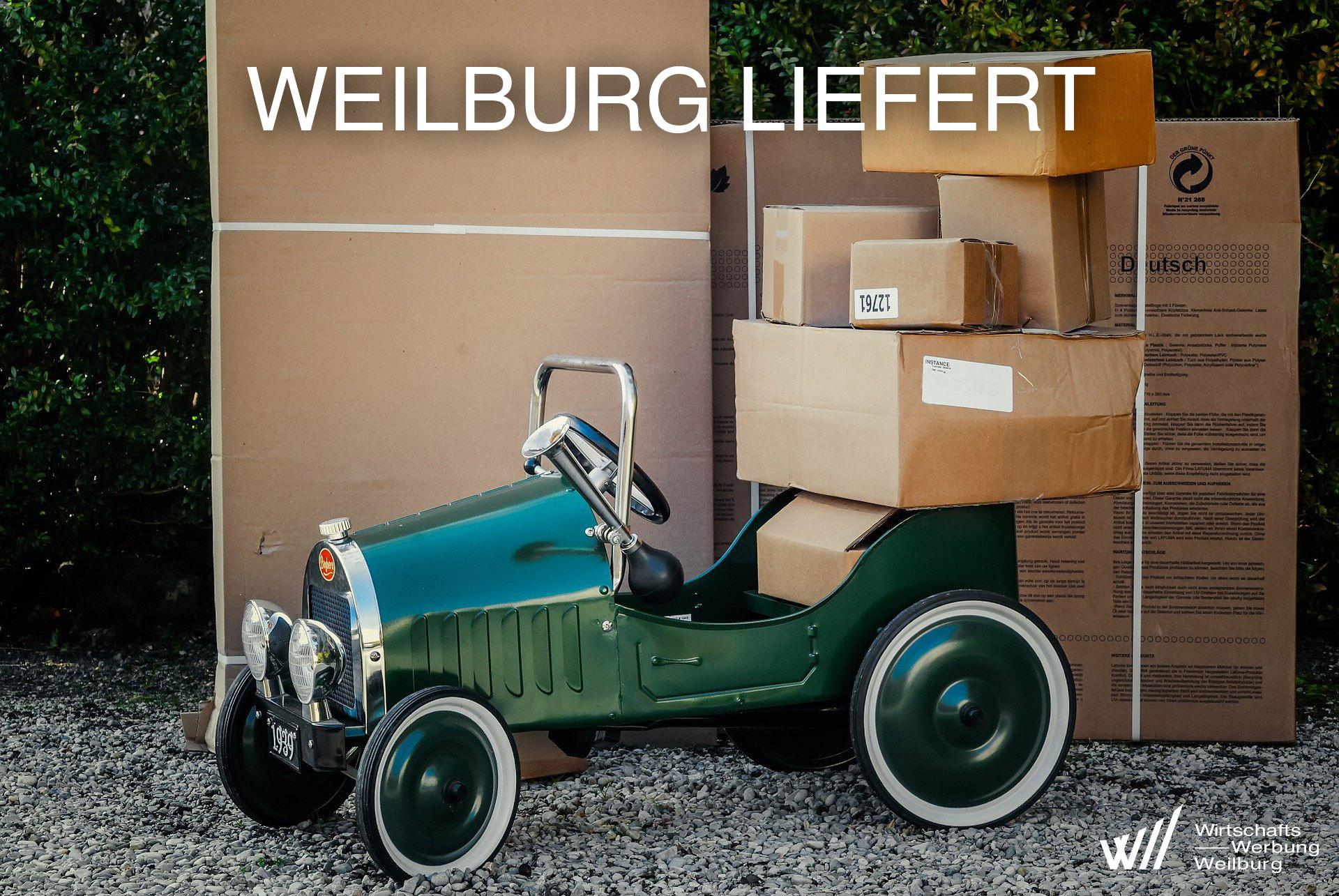 Ab heute – Lieferservice in Weilburg – auch an Heiligabend!