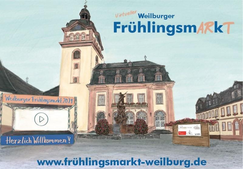 Erster virtueller Weilburger Frühlingsmarkt